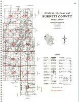 Map Image 029, Burnett County 1981